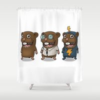 hero Shower Curtains featuring Hero by Torakiki