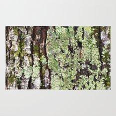 Tree Bark Lichen Rug