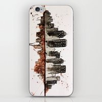 nyc iPhone & iPod Skins featuring NYC by Rosalia Mendoza