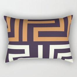 African Tribal Pattern No. 51 Rectangular Pillow