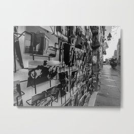 Flamenco postcards - Cordoba Metal Print