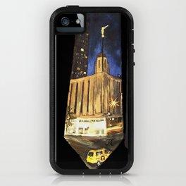 Manhattan NY LDS Temple Tie iPhone Case