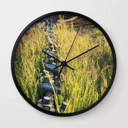 This oughta hold it!  Wall Clock