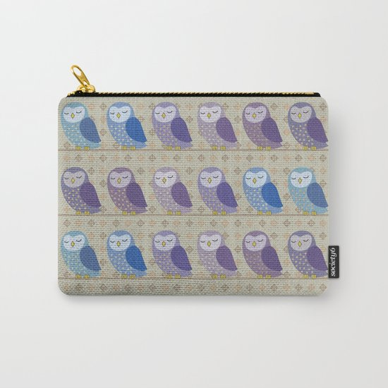 Corujas Carry-All Pouch