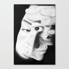 Frayed Canvas Print