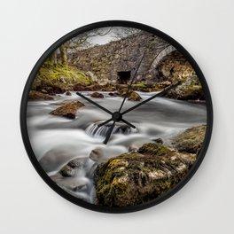 River Ogwen Bridge Wall Clock