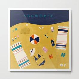 Summer Celebration Metal Print