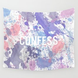 Confess - inverted Wall Tapestry