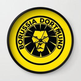 Prussia Yellow Football Wall Clock