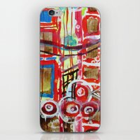 coasters iPhone & iPod Skins featuring Roller Coaster by Pajaritaflora