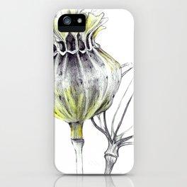 Poppy Pods iPhone Case