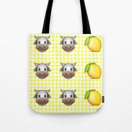 Milk Milk Lemonade Emoji Tote Bag