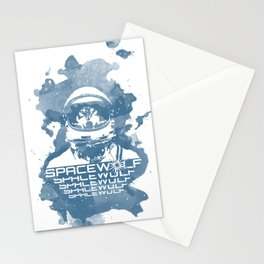 Spacewolf Stationery Cards
