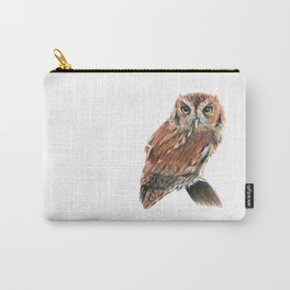 Screech Owl Carry-All Pouch