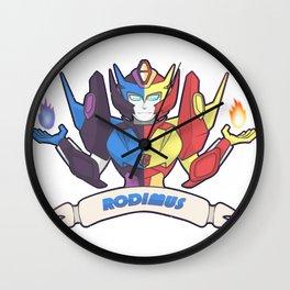 Rodimus red/blue Wall Clock