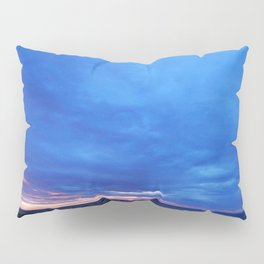 Cloudy Day Sunset on the Sea Pillow Sham