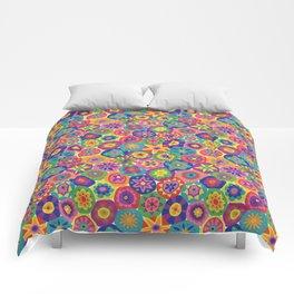 Millefiori-Crayon Colors Comforters