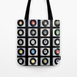 Record Typology Tote Bag