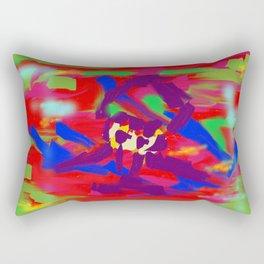 Forced Rectangular Pillow