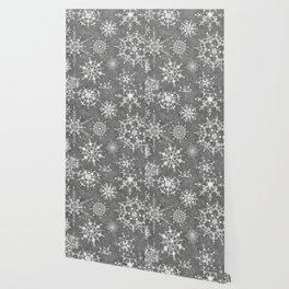 Winter Snowflakes Wallpaper