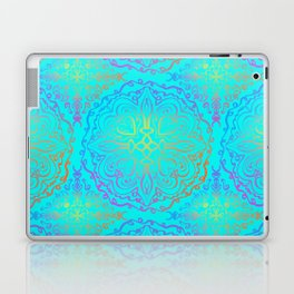 Vibrant, colourful mandala Laptop & iPad Skin