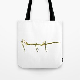 Spanish Walking Stick insect  species Leptynia hispanica Tote Bag