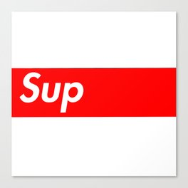 Sup Canvas Print