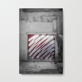 Chrome Metal Print