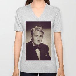 Spencer Tracy, Hollywood Legend Unisex V-Neck