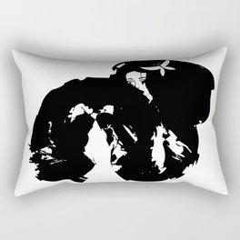 Fan Dancer Rectangular Pillow