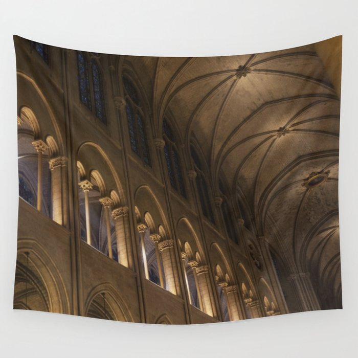 Notre Dame, Paris Wall Tapestry
