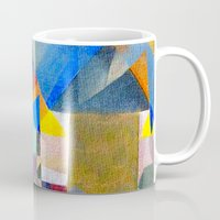 actor Mugs featuring Harlequin by Fernando Vieira