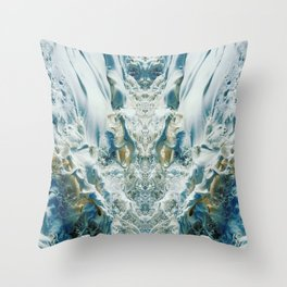 ~°* Foam Fr●thed° Formulation *°~ Throw Pillow