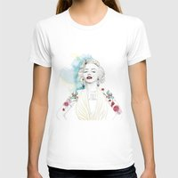 marylin monroe T-shirts featuring Marylin Monroe  by sarah rie