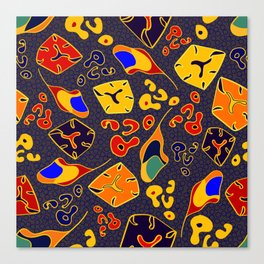 African Fancy Canvas Print