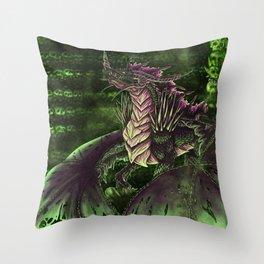 Doom's Lair Throw Pillow
