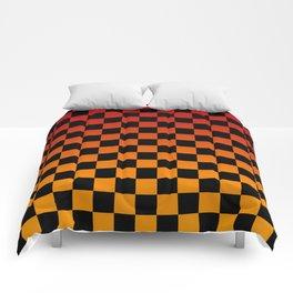 Chessboard Gradient V Comforters