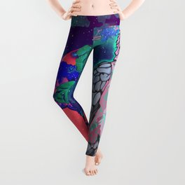Cosmic Cockatoo Leggings