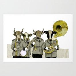 Herd Behavior Art Print