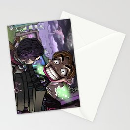 Warp-portal Sales Person Stationery Cards
