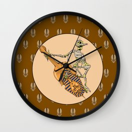 Grave Tunes From Old Old Tombs Wall Clock