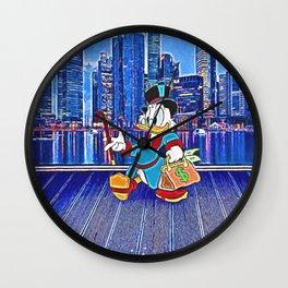 Scrooge McDuck Wall Clock