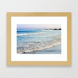 Summer Sea Framed Art Print