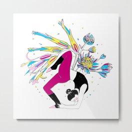 Dancing stillness Metal Print
