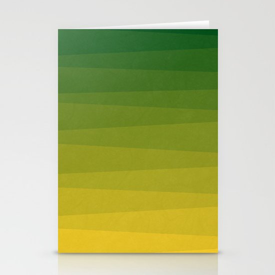 Shades of Grass - Line Gradient Pattern between Lime Green and Bright Yellow by alisagal