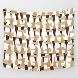 brown spearheads Wall Tapestry