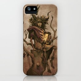 Shaman #1: Firefly iPhone Case