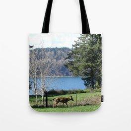 Oh Deer III Tote Bag