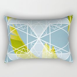 banana sky Rectangular Pillow