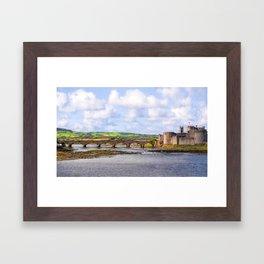 Thomond Bridge and King Johns Castle Framed Art Print